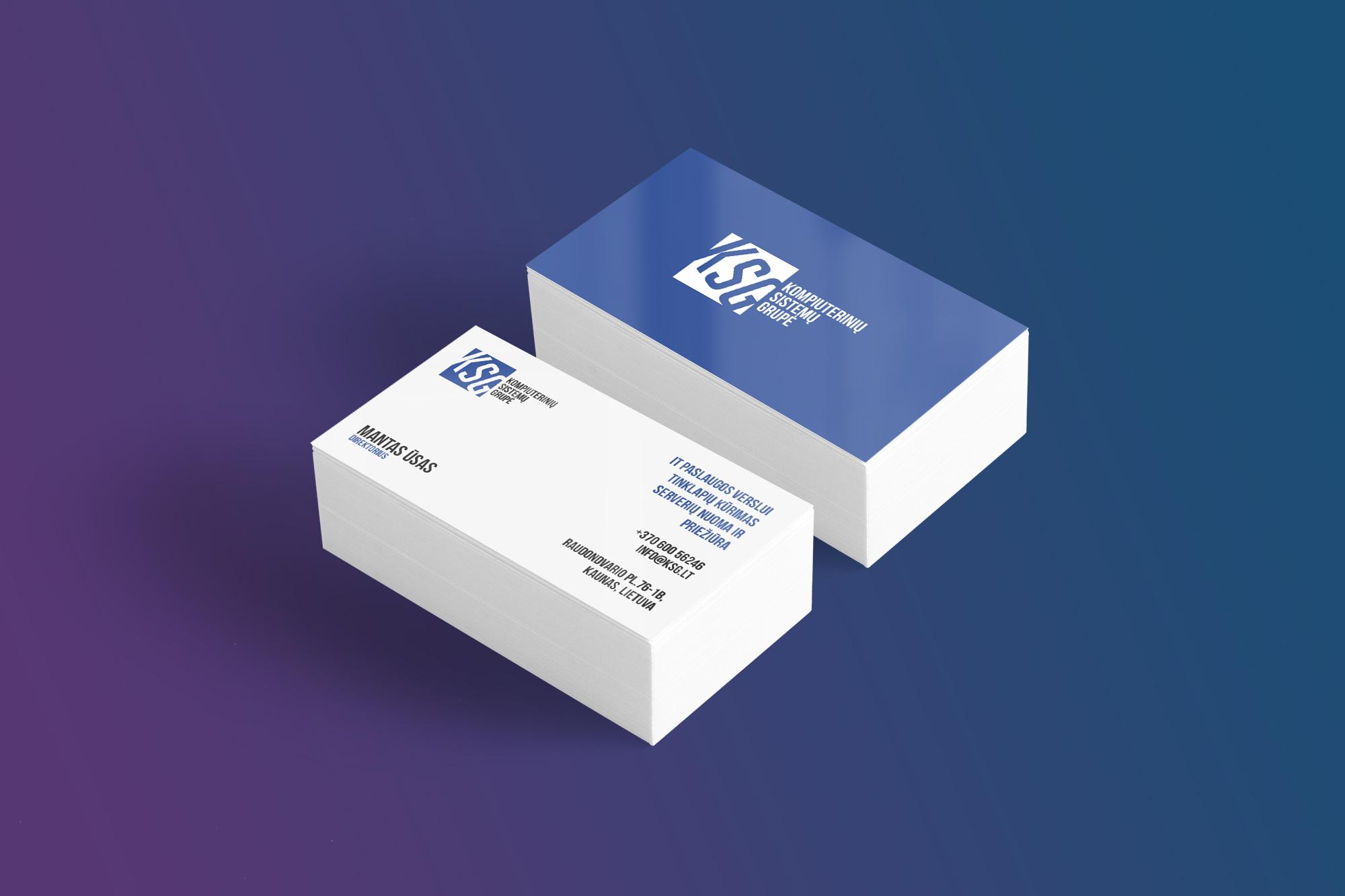 vizitines korteles Vizitinės kortelės ksg2