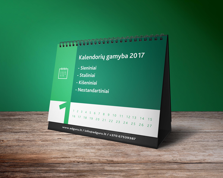 kalendoriai Kalendoriai 2017 adguru Kalendoriai